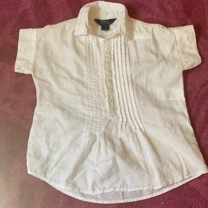 Gently used kids polo blouse